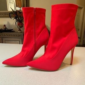 Forever 21 RED Stiletto Booties
